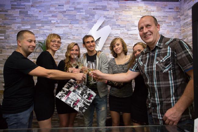 Křest kalendáře Czech Mix Team s Romanem Kreuzigerem
