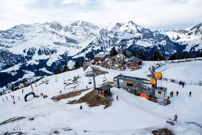 Snow Bike Festival , Gstaad 2016