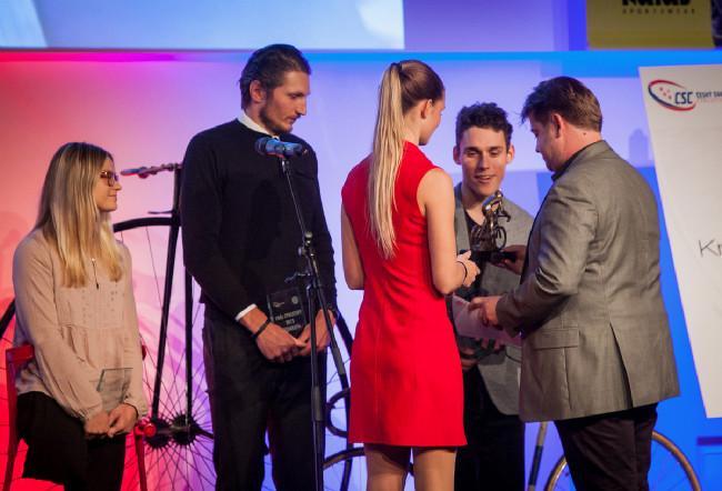 Král cyklistiky 2015 - nejlpším cyklistou mezi handivapovanými byl zvolen Ivo Koblasa