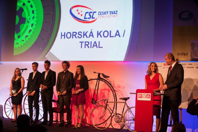 Král cyklistiky 2015 - ocenění bikeři