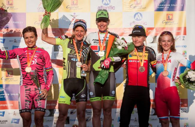 Sunshine Cup #1 - nejlepší ženy etapového závodu Afxentia