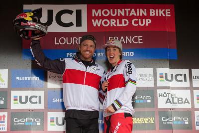 Světový pohár DHI #1 - Lourdes