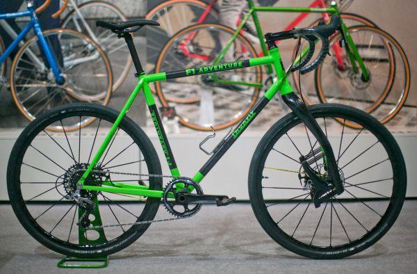 For Bikes 2016 - Favorit představil poslední den výstavy prototyp Gravelbiku