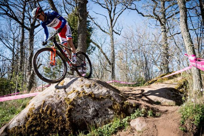 Julien Absalon na tréninku