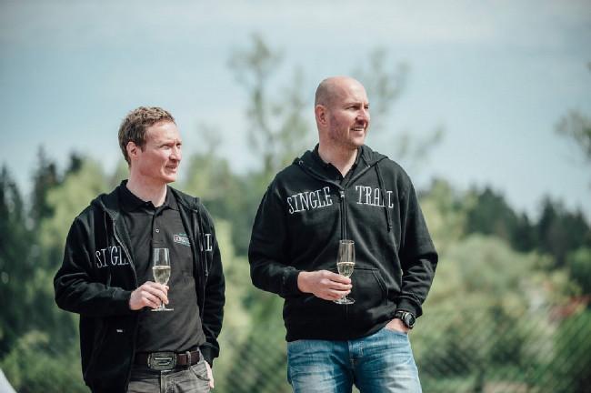 Otevírání Single Trail Moravský kras - dva muži, kteří stojí za projektem Petr Vaněk a Luboš