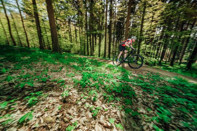 Otevírání Single Trail Moravský kras