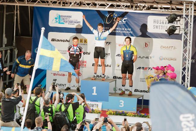 Mistrovství Evropy XCO 2016, Huskvarna - sprinty