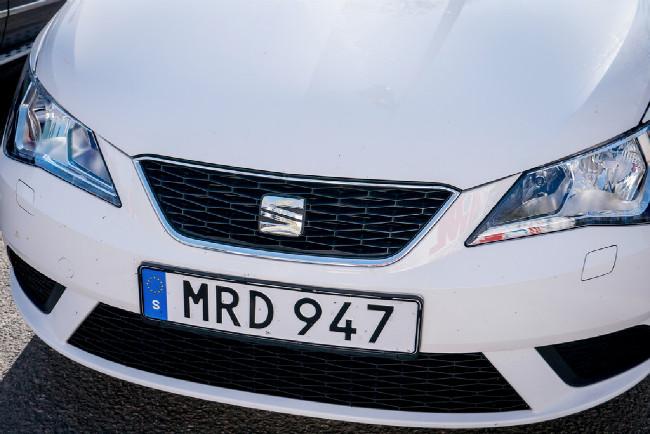 Se zapůjčeným vozem nám v Europcaru udělali radost :-)))