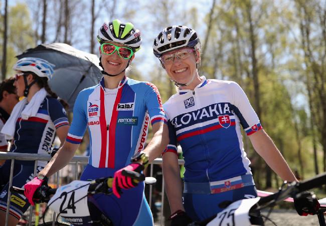 Karla Štěpánová a Janka Števková