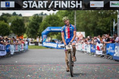 Kristian Hynek dojíždí na třetím místě