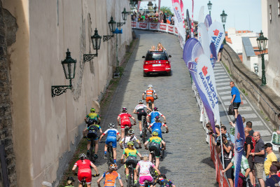 Pražské schody 2016 - závod žen
