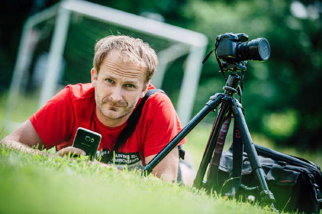 Petr Slavík loví ty nejlepší záběry