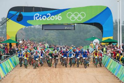 start olympijského závodu