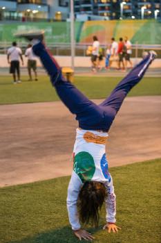 Katka Nash pojede na svou další olympiádu jako gymnastka