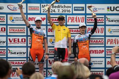 Jan Škarnitzl celkovým vítězem Strabag MTB Cupu