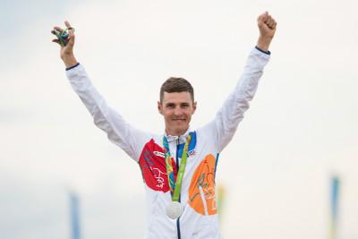 Jaroslav Kulhavý se stříbtnou medailí