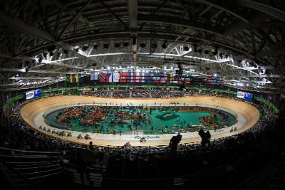 poslední den na olympijském velodromu