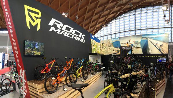 Eurobike 2016 - klasický koncept zachoval Fikefun i s Rock Machinem