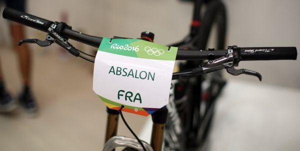 Olympijský bike Juliena Absalona