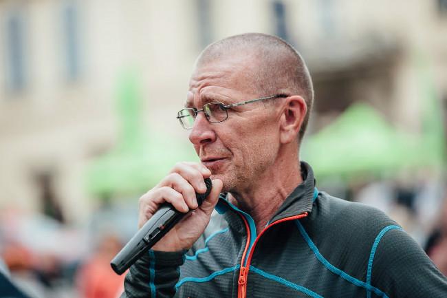 Hlavní organizátor Lubomír Vidlák