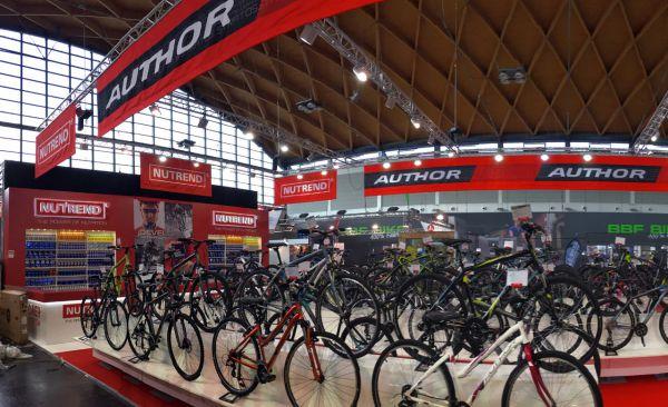 Eurobike 2016 - Author utvořil spolu s Nutrendem nerozlučnou dvojici