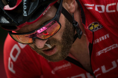 Florian Vogel se ve vysoké nadmořské výšce trápil