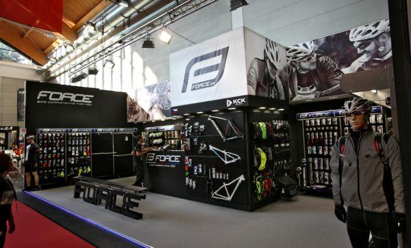 Eurobike 2016 - zlínský komponentový gigant Force letos v černém