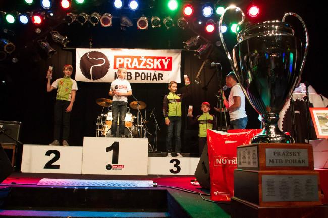 Pražský MTB pohár 2016 - vyhlášení