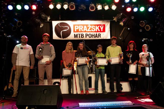 Ocenění nejlepší pražští cyklisté