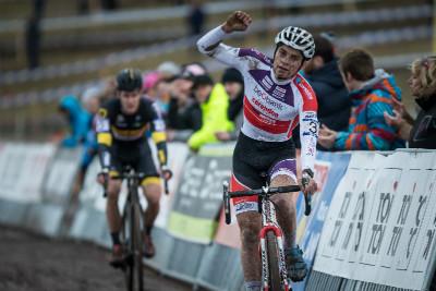 David van der Poel vítězí