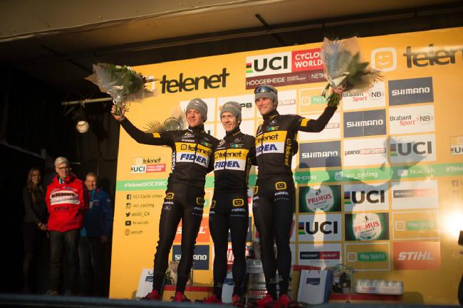 Hoši z celku Telenet Fidea Lions smetli v Hoogerheide podium