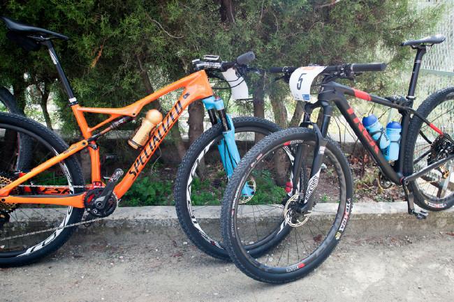 Dvě rakety českých bikerů