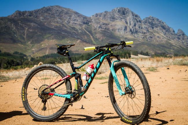 Jenny přesedlala na 29 bike - Scott Contessa Spark