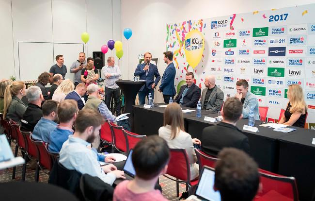 Tisková konference u příležitosti 18. ročníku KPŽ