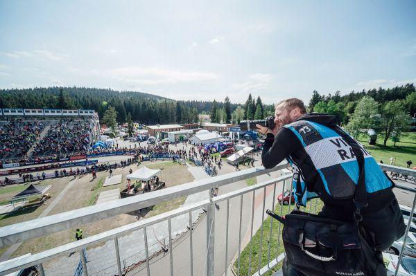 SP Nové Město na Moravě 2017 - neděle - Petr Slavík loví své záběry