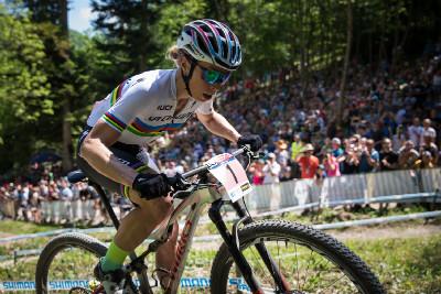 Annika Langvad na čele závodu