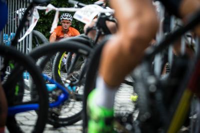 Mathieu van der Poel před startem