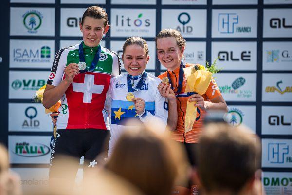 Trojička nejlepších žen U23