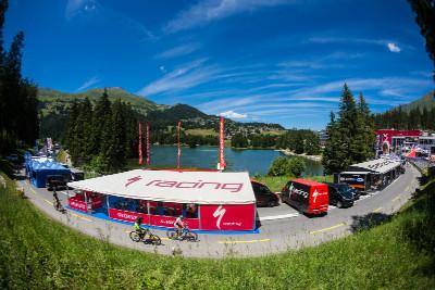 Lenzerheide je jednou z nejhezčích lokalit světového poháru