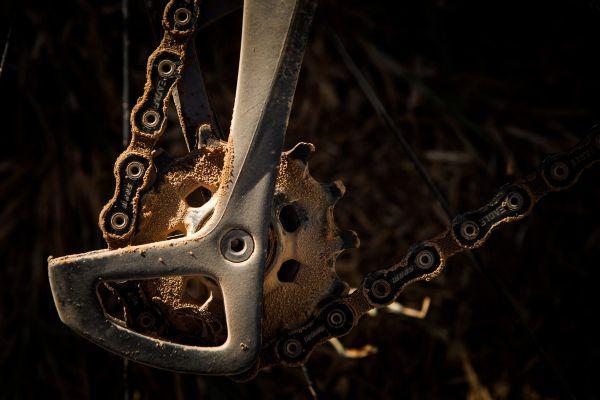 Detail zaprášené rolničky