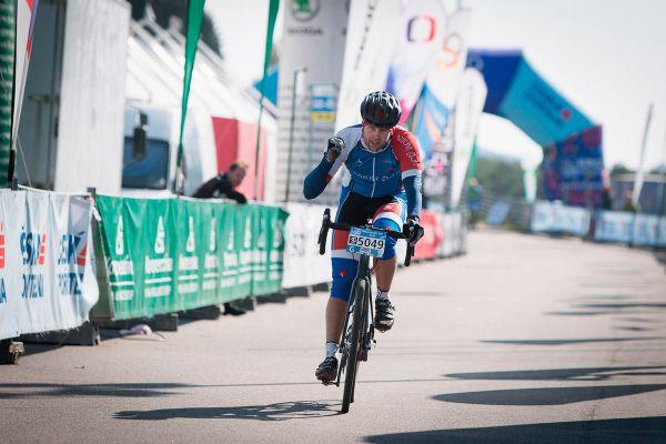 Tomáš Havlíček dojel třetí