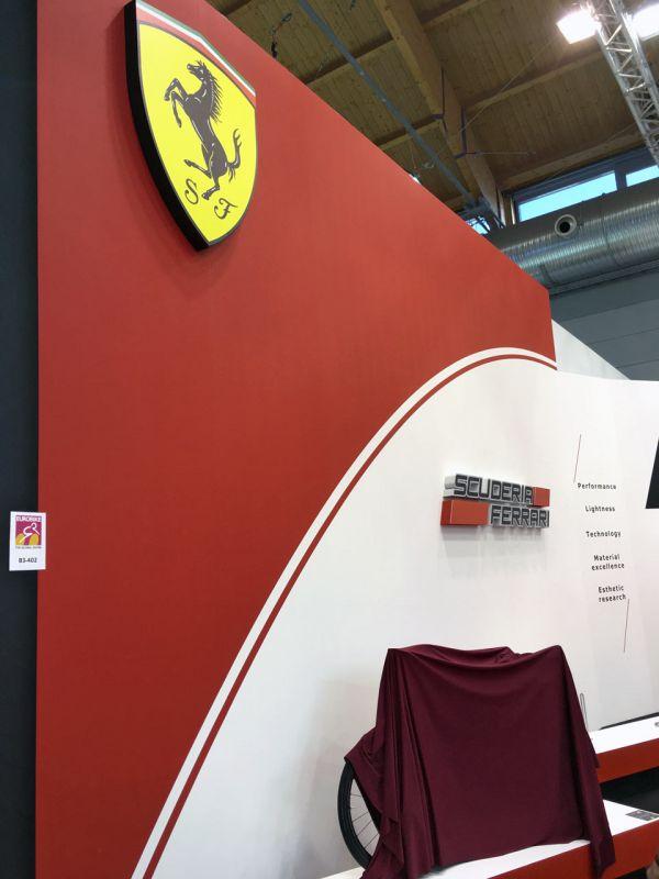 Bianchi / Ferrari 2018 - Eurobike