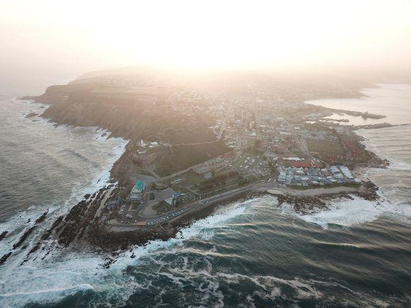 Odtud Cape Pioneer 2017 startoval - Mossel Bay