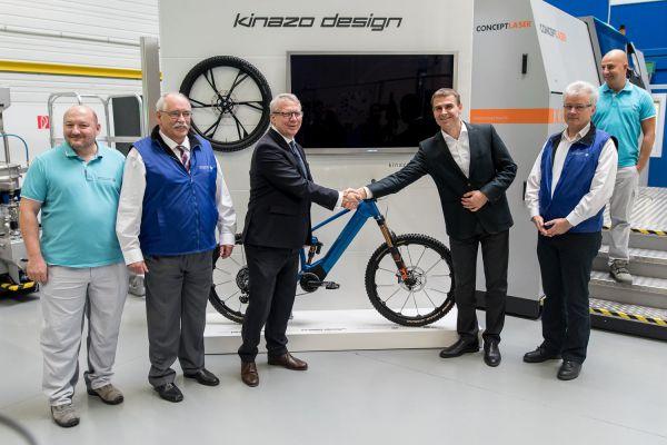 Kinazo e1 - představení ve Stupavské pobočce Volkswagen