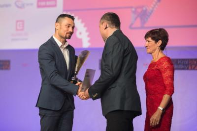 Novou cenu Fair-Play jako první převzal Jiří Ježek