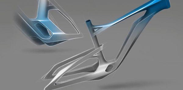 Kinazo e1 - designový předchůdci finálního biku