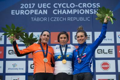 1.Sanne Cant, 2.Lucinda Brand, 3.Alice Maria Arzuffi