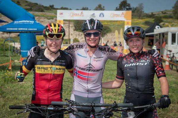 Trojlístek nejrychlejších - Ghita, Gunn Rita a Malene