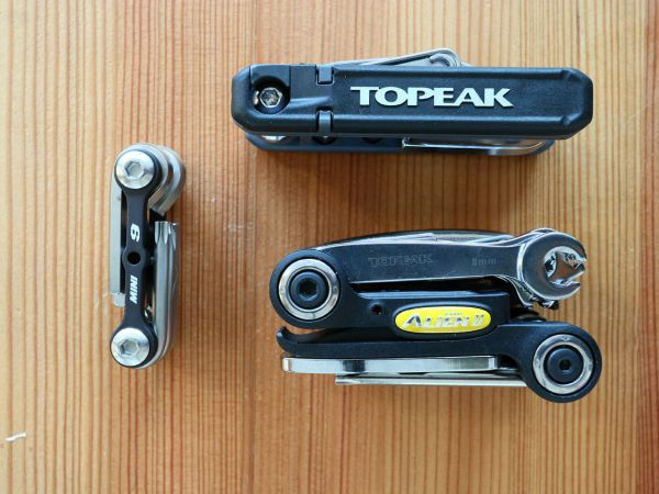 Přehled multiklíčů Topeak