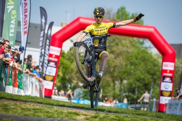 Jakub Schierl si vychutnává vítězství